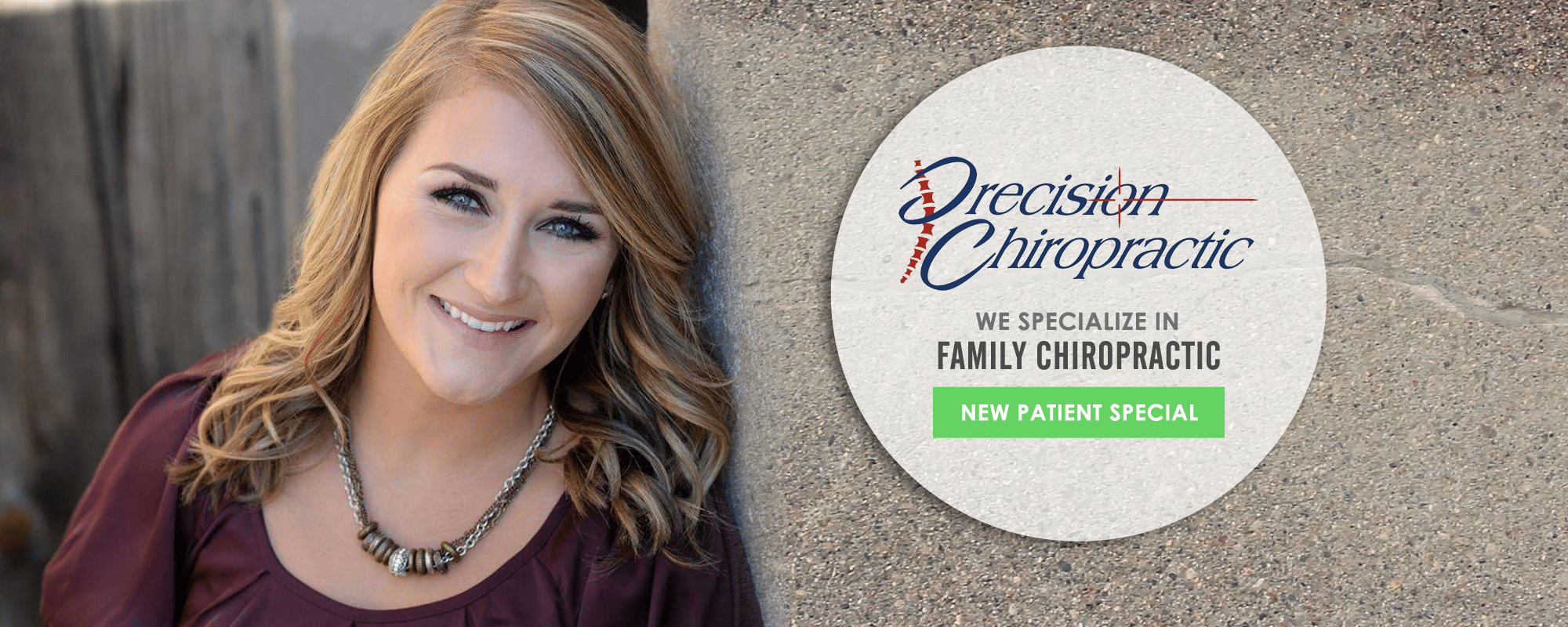 Chiropractor Holmen WI Kaitlyn Flaherty new patient special near me